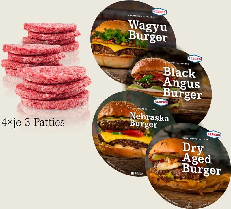 Perfektes Burger Fleisch